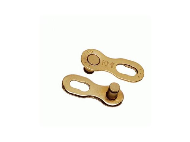 """KMC CL-559G Kettenschloss 1/2x11/128"""" 10-fach 5,9mm gold"""